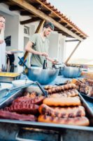 Foz do Lizandro Surf Camp's BBQ