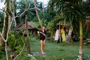 Mentawai Surf Resort Outdoor Shower