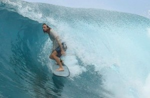 Surfing at Lance's Left