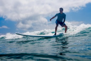 Surf Classes at Puaena Point Beach