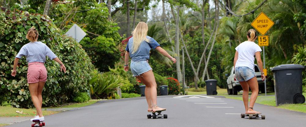 Skating in Oahu