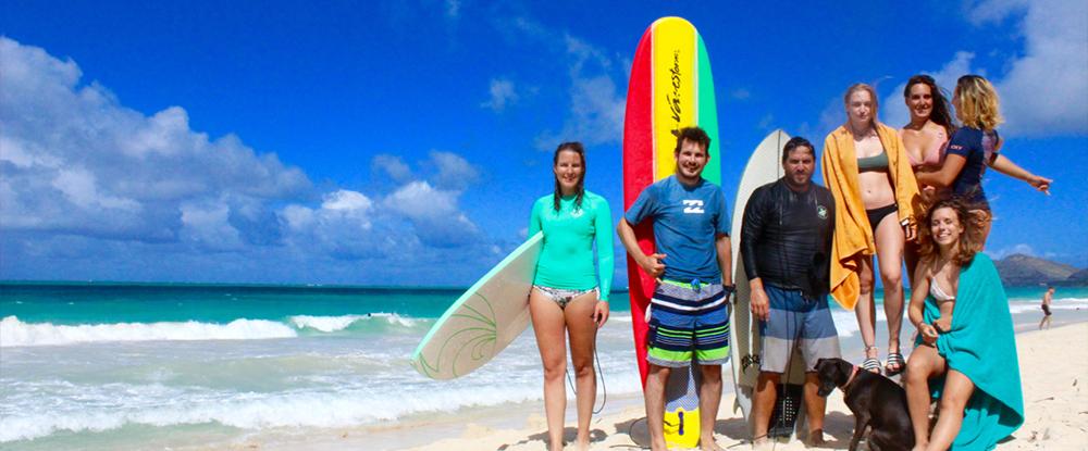 Puaena Surf lessons