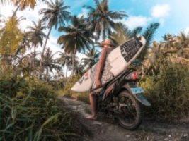 Mentawai Surf Resort Motorbikes