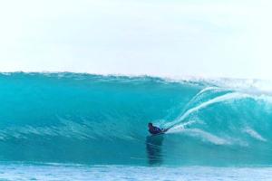 Surfing at Maldives