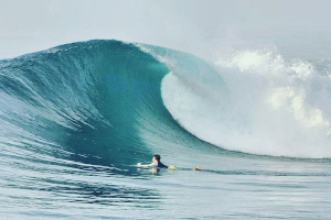 Surf at Maldives