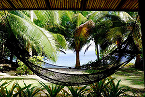 Hammock in the Beachfront Villa
