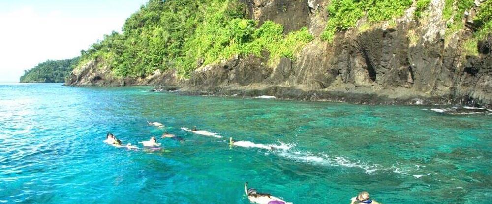 Snorkeling in Fiij