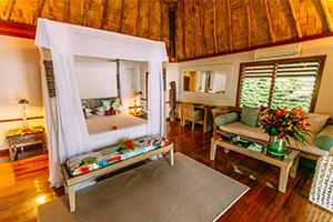 Interior of Honeymoon Villa