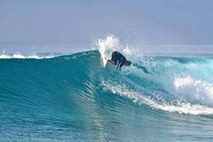 Surf in Maqai Fiji
