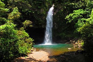 Waterfall Tour in the Fiji Islands