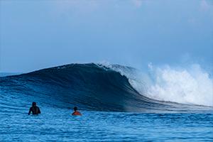 Wave in Madagascar