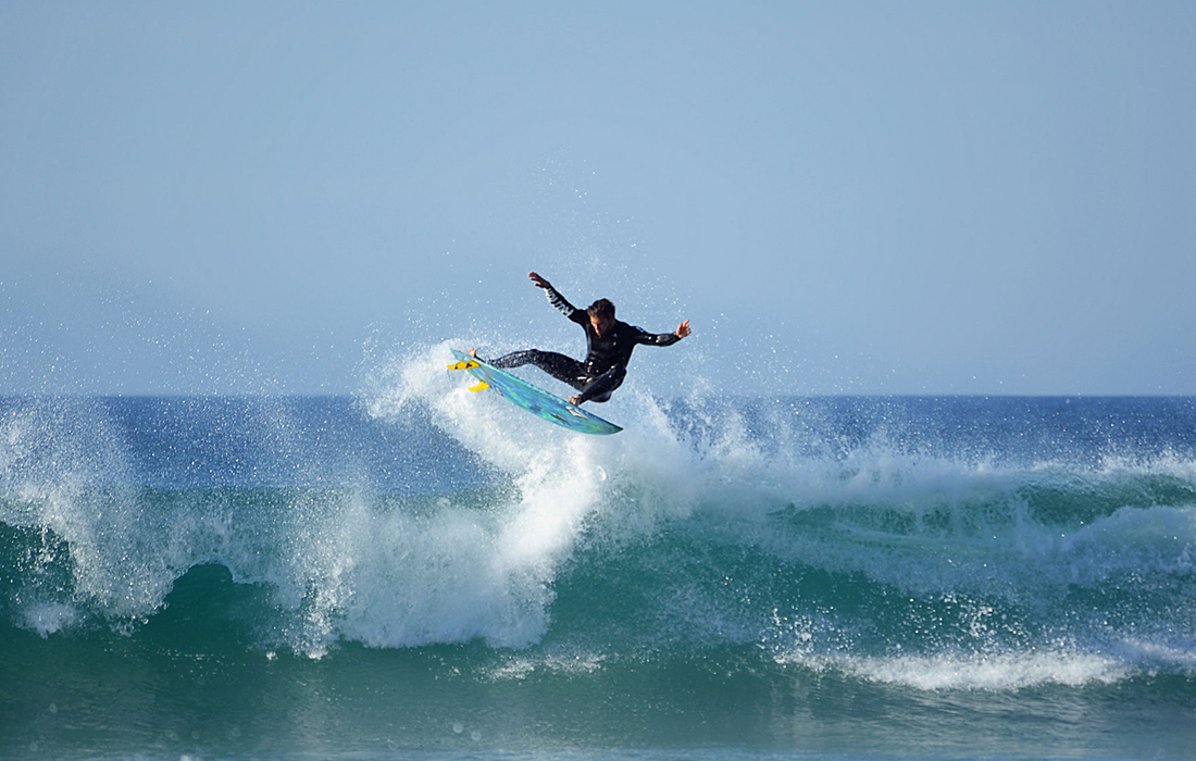 Surf coaching advanced level