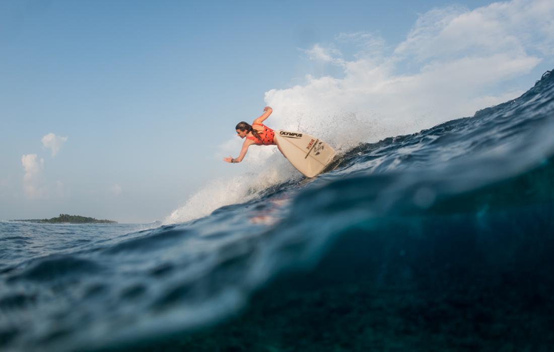 Surf coaching trip