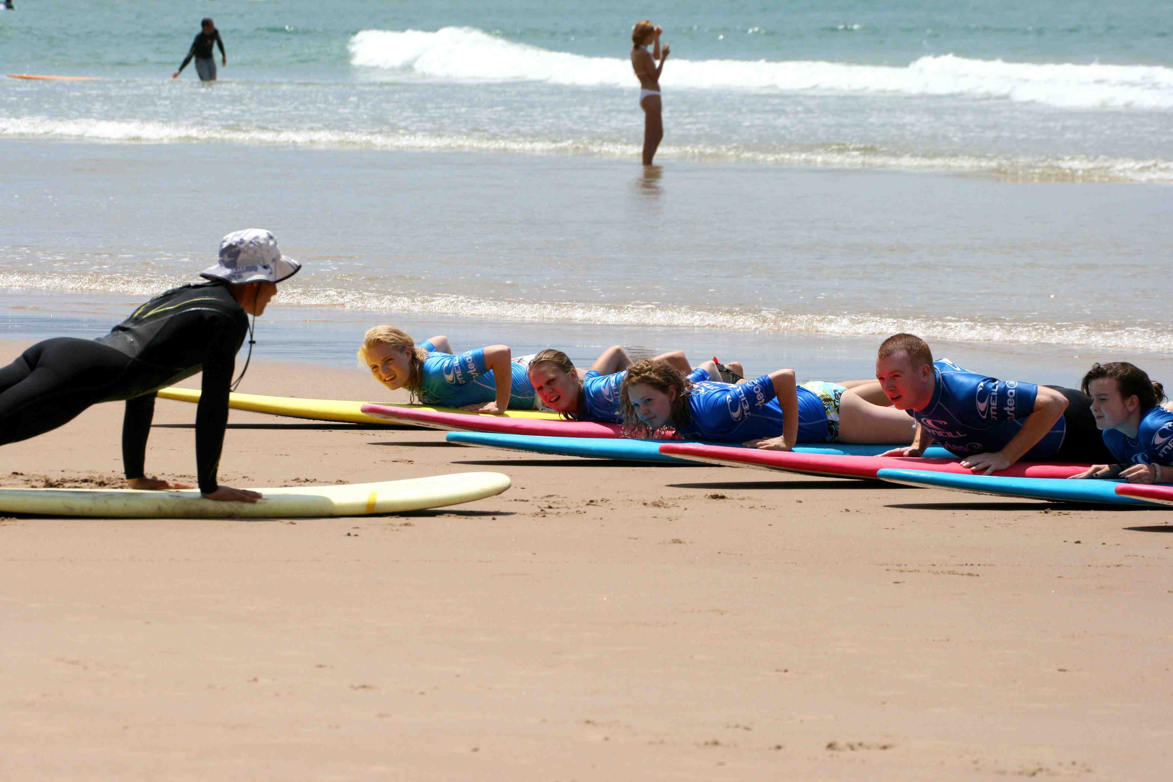 Biarritz Teen Surf and Language Camps