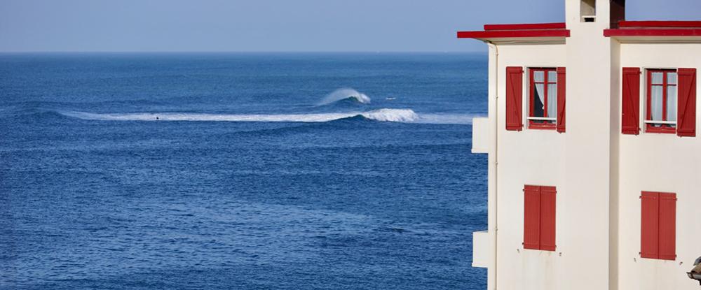 Surf spots in Biarritz