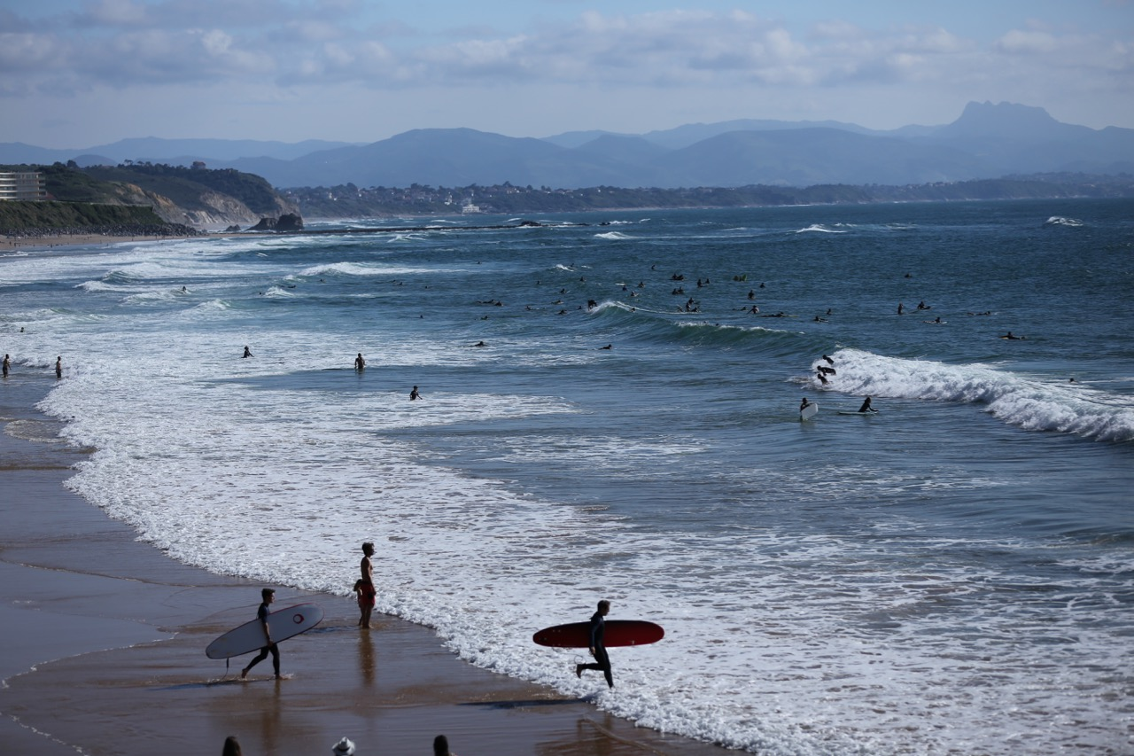 Where to surf in Biarritz