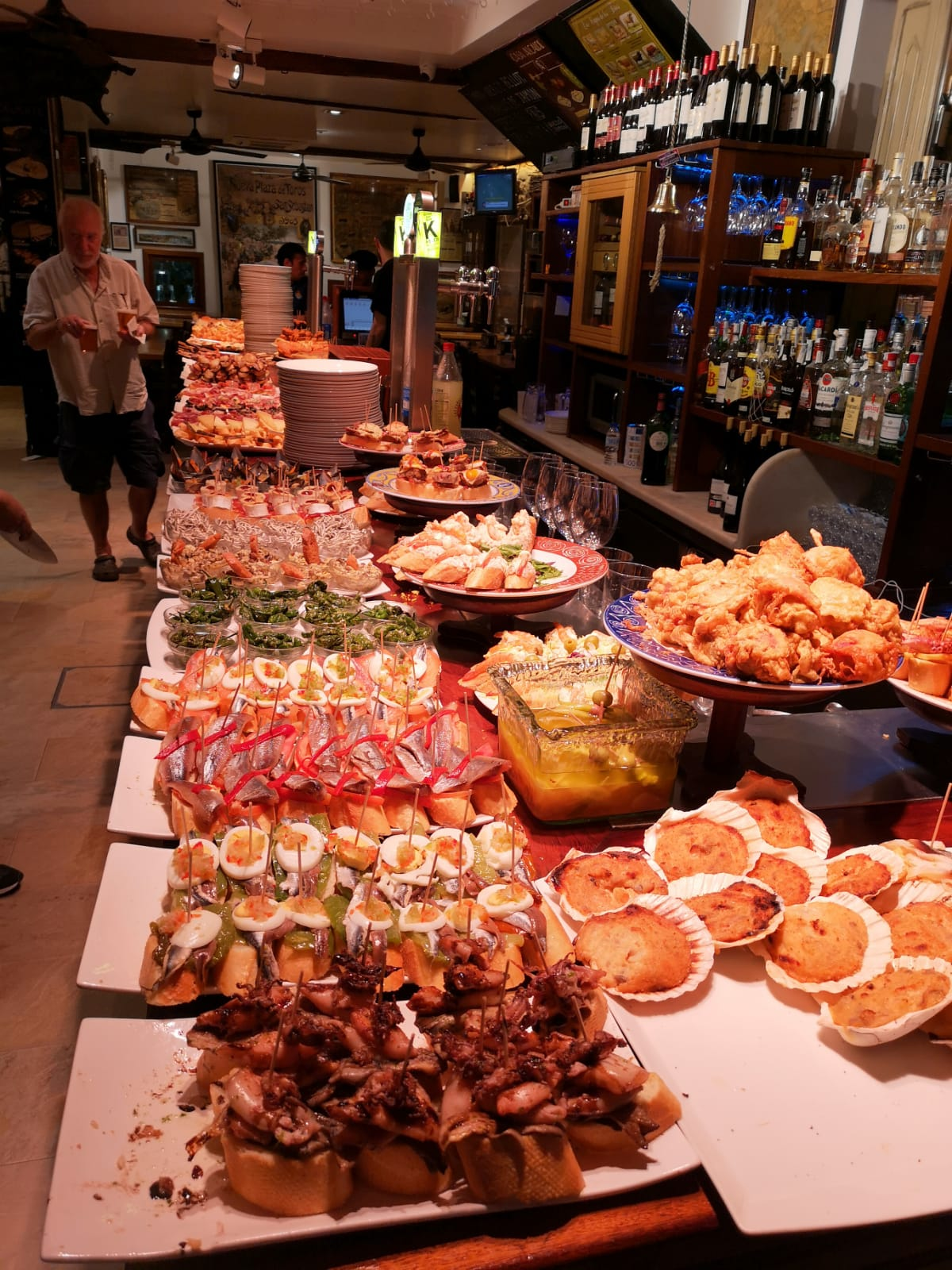 Tapas and food in France
